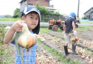 ごてづくり農園収穫体験