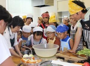 フレッシュミズ・青年部合同親子料理教室
