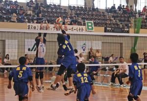 第8回JA柳川カップ小学生バレーボール大会