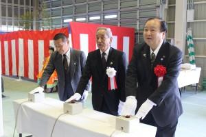 JA柳川東部地区CE竣工式