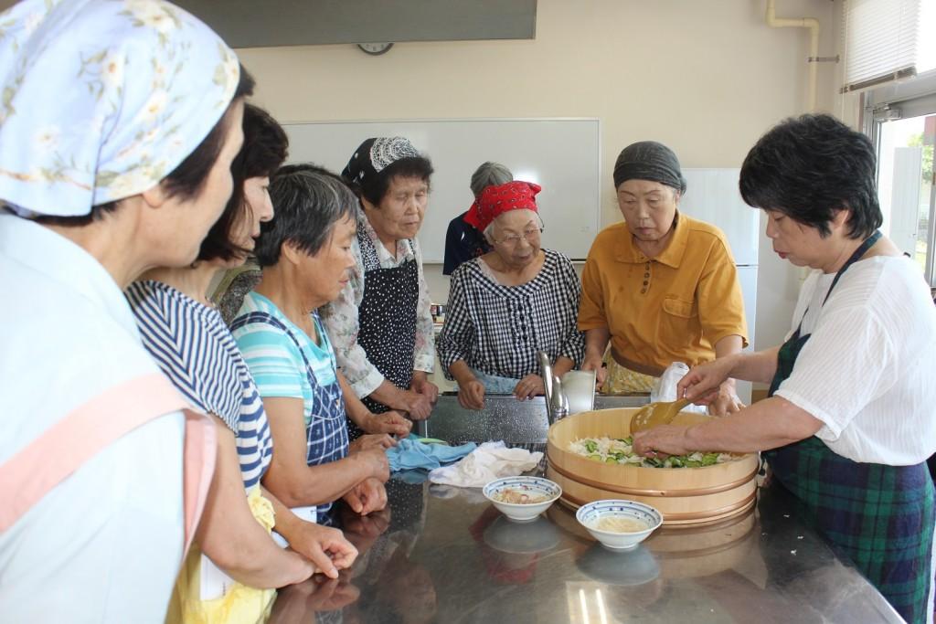 JA柳川女性部夏季料理教室