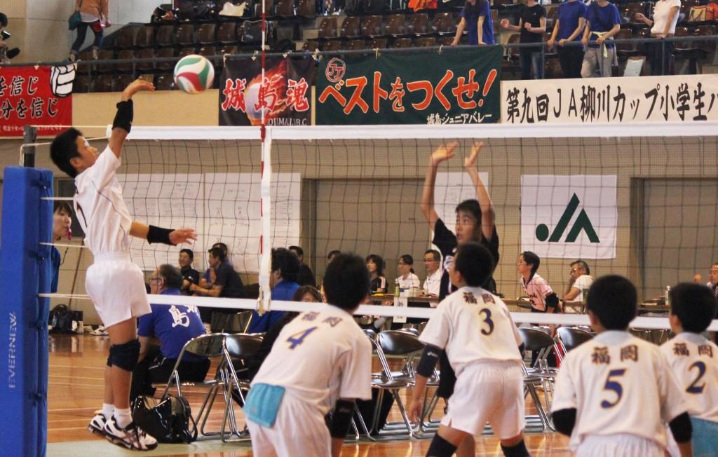 第9回JA柳川カップ小学生バレーボール大会