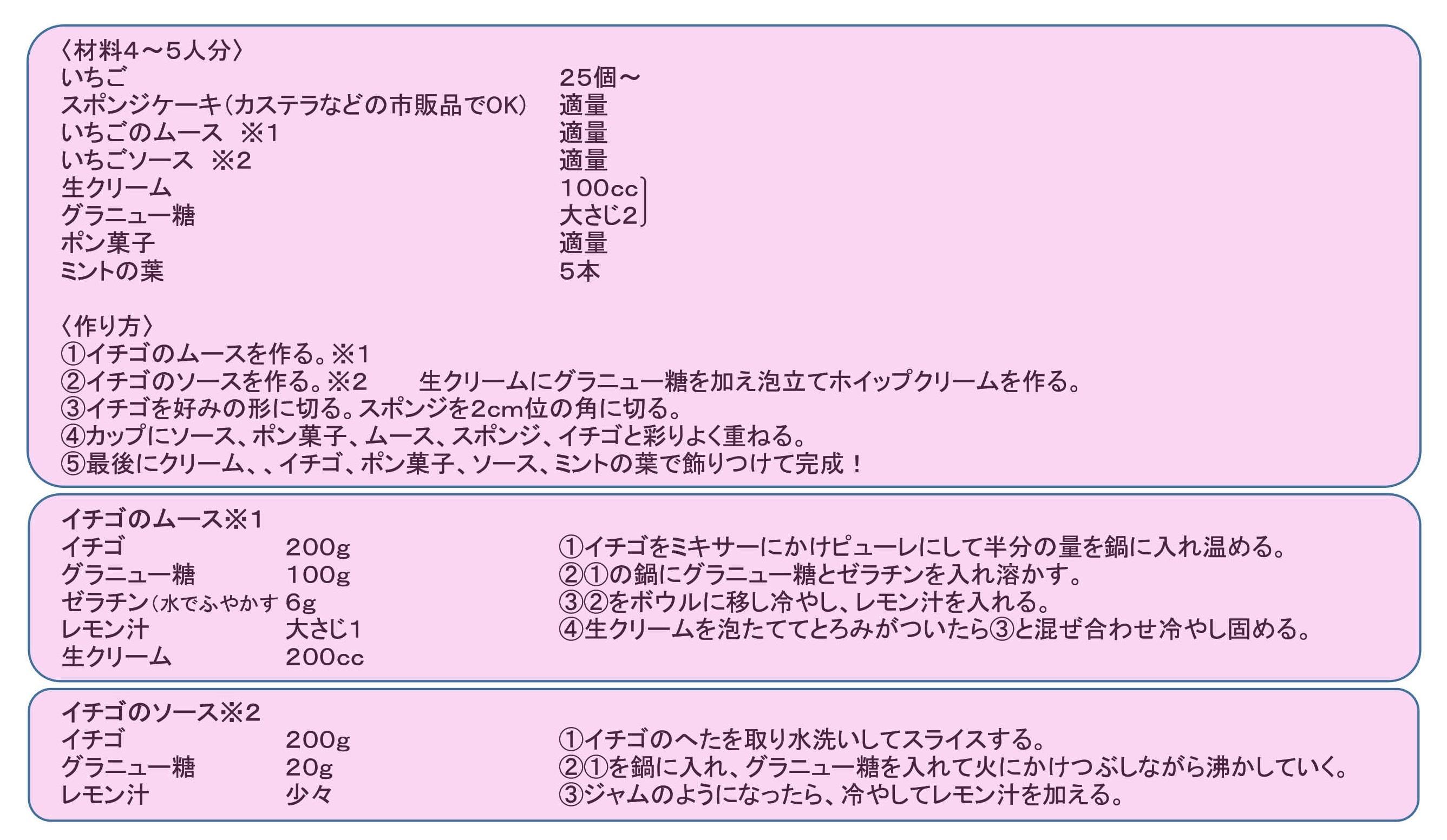 【料理】高校生シェフ苺のトライフル_001