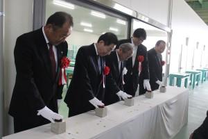 JA柳川野菜集出荷施設新設工事竣工式